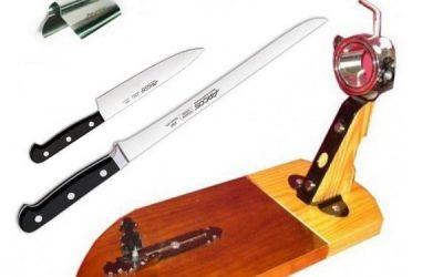 Tipos de cuchillos para cortar jamón