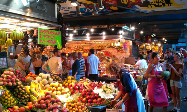 mercado boqueria visita barcelona