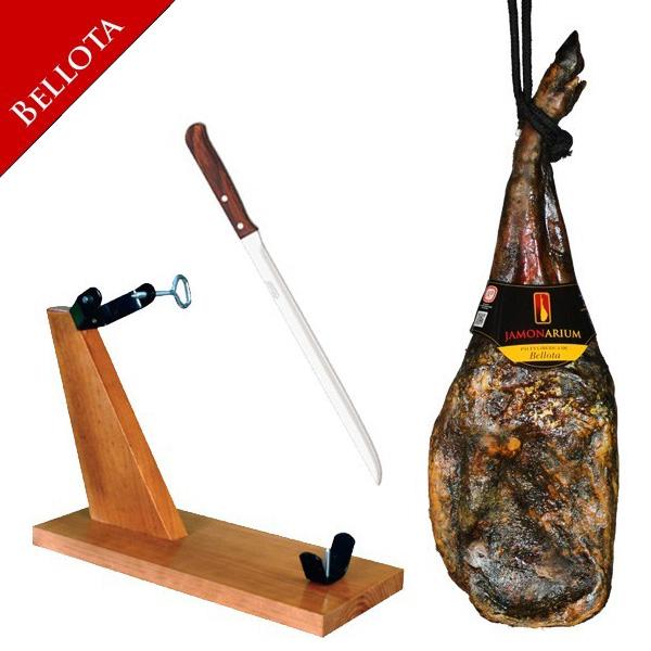 Paleta Bellota Pata Negra 5.750 Kg jamonero cuchillo